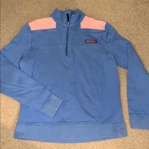Vineyard vines quarter zip pullover sweatshirt